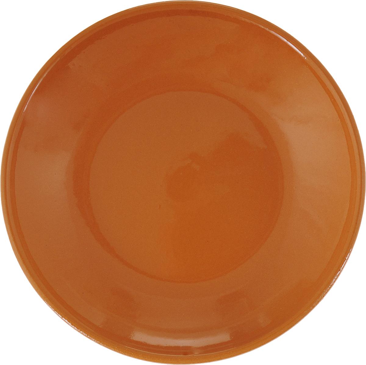 Фото - Блюдце Борисовская керамика Радуга, цвет: сиена, диаметр 10 см блюдце борисовская керамика радуга цвет темно серый диаметр 10 см