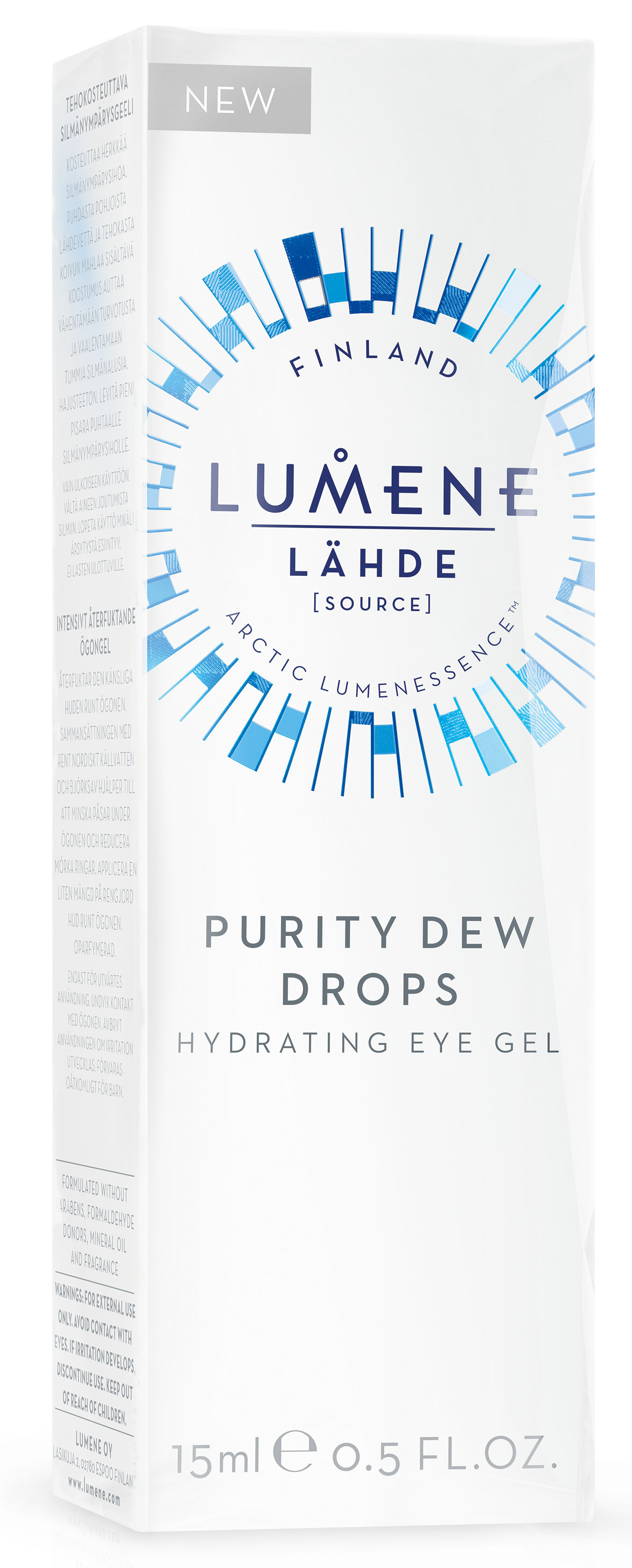 Lumene LahdeУвлажняющий гель для области вокруг глаз, 15 мл LUMENE