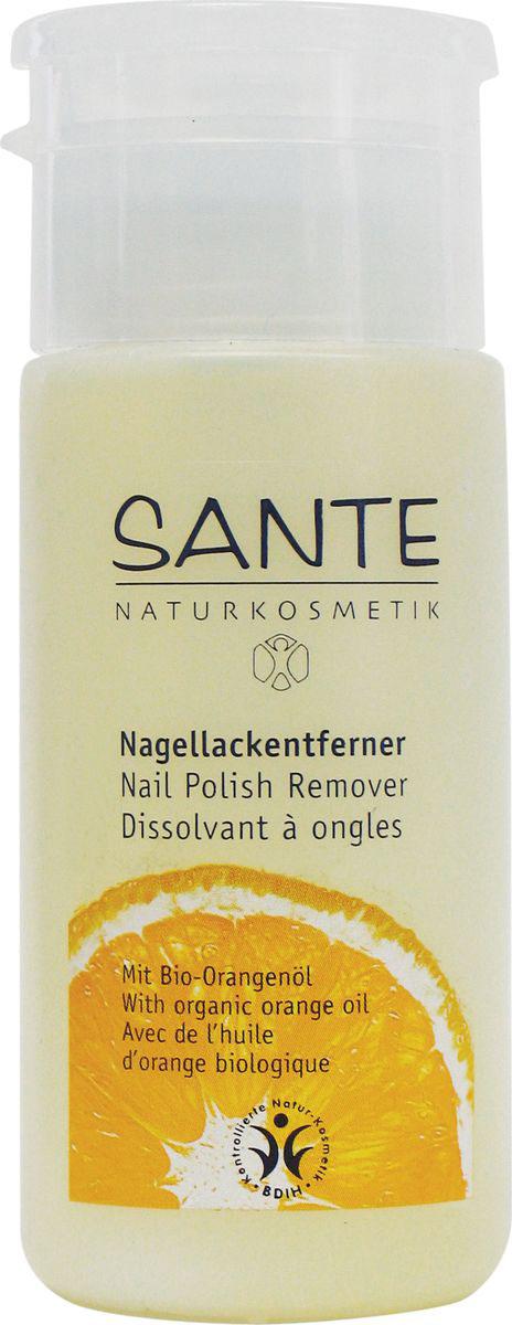 Sante Натуральная жидкость для снятия лака, 100 мл refectocil жидкость для снятия краски 100 мл