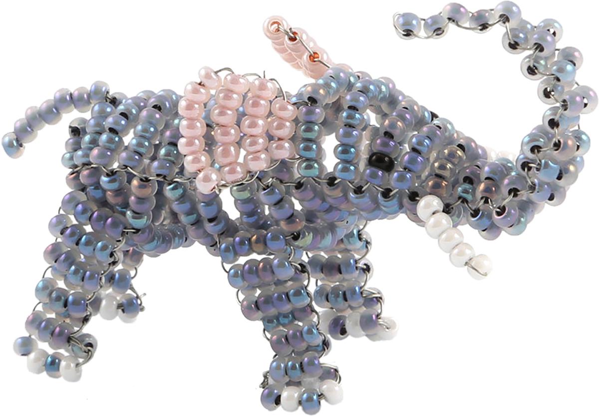 Набор для бисероплетения Hobby & Pro Pearl Фигурка. Слоник. 498869 набор для бисероплетения hobby