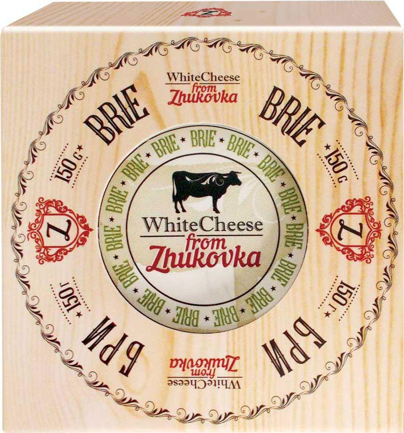 WhiteCheese from Zhukovka Сыр Бри с белой плесенью 60%, 150 г цена 2017