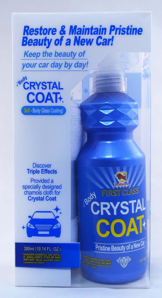 Покрытие защитное для кузова Bullsone Crystal Coat, 300 мл mavala barrier base coat защитное покрытие barrier base coat защитное покрытие