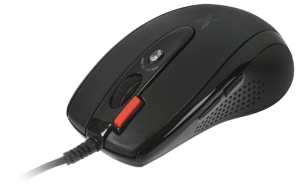 Игровая мышь A4Tech X-710BK, Black все цены