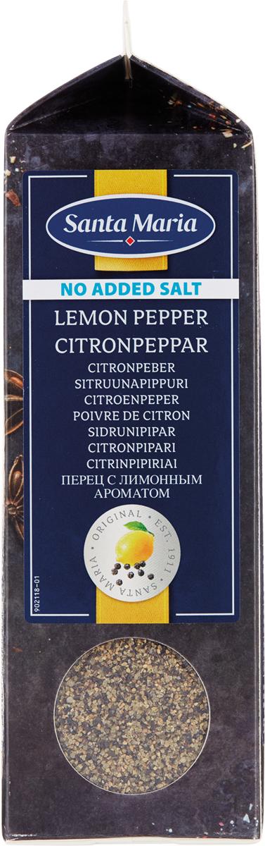 Santa Maria Перец с лимонным ароматом без соли, 530 г santa maria душистый перец дробленый 320 г