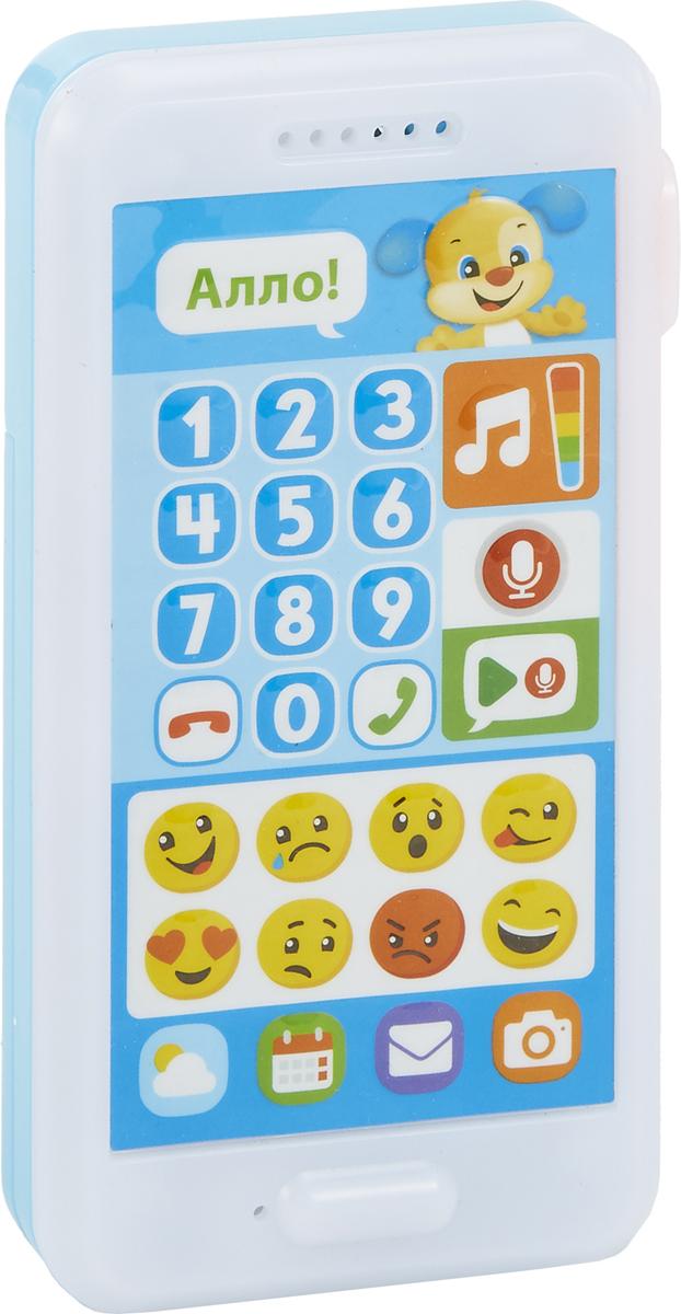 Fisher-Price Развивающая игрушка Смейся и учись Телефон Ученого щенка mattel интерактивная игрушка fisher price смейся и учись телефон учёного щенка