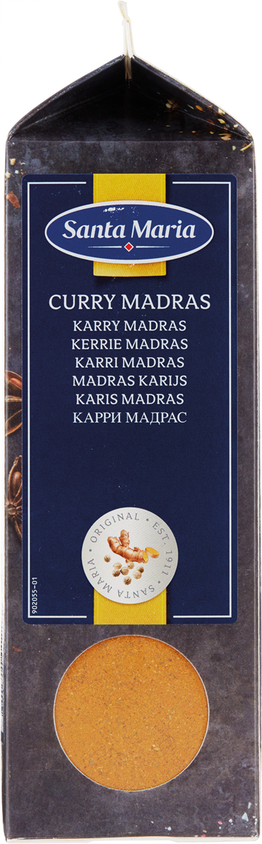 Santa Maria Карри мадрас, 435 г santa maria куркума молотая 485 г