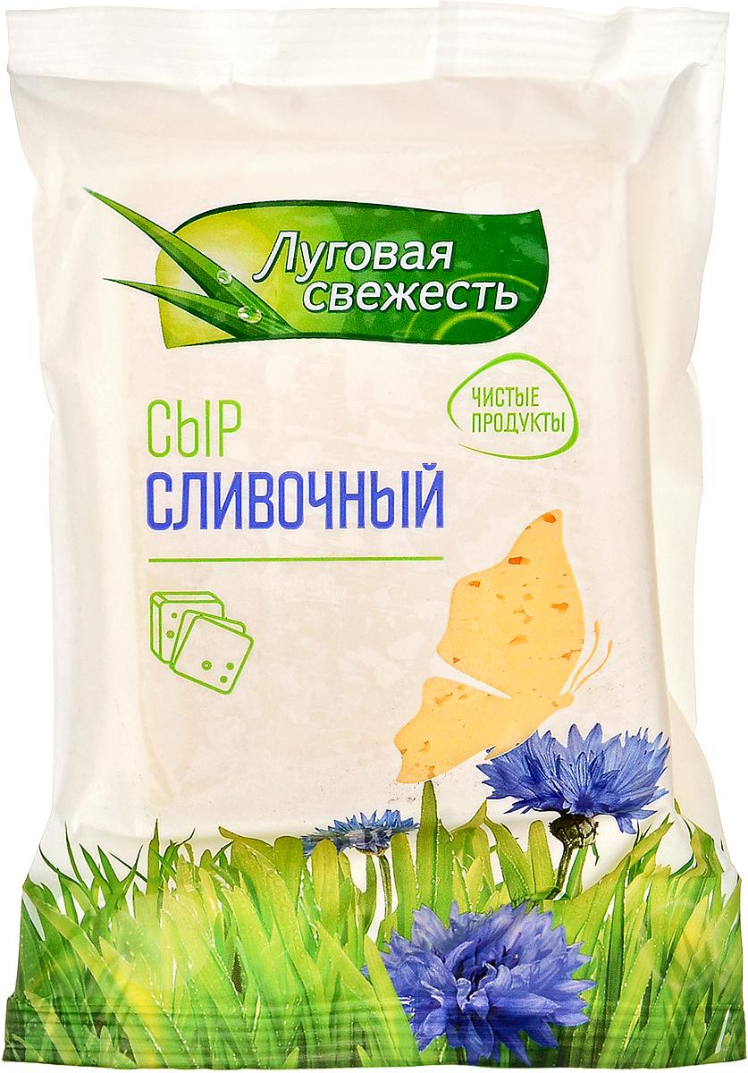 Луговая Свежесть Сыр Сливочный, 50%,, 225 г все мыши любят сыр