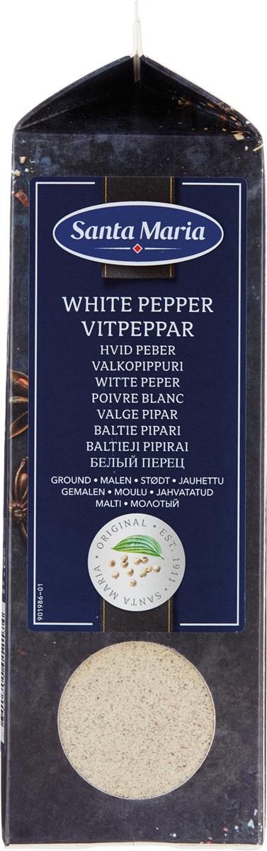 Santa Maria Белый перец молотый, 500 г santa maria анис целый 390 г