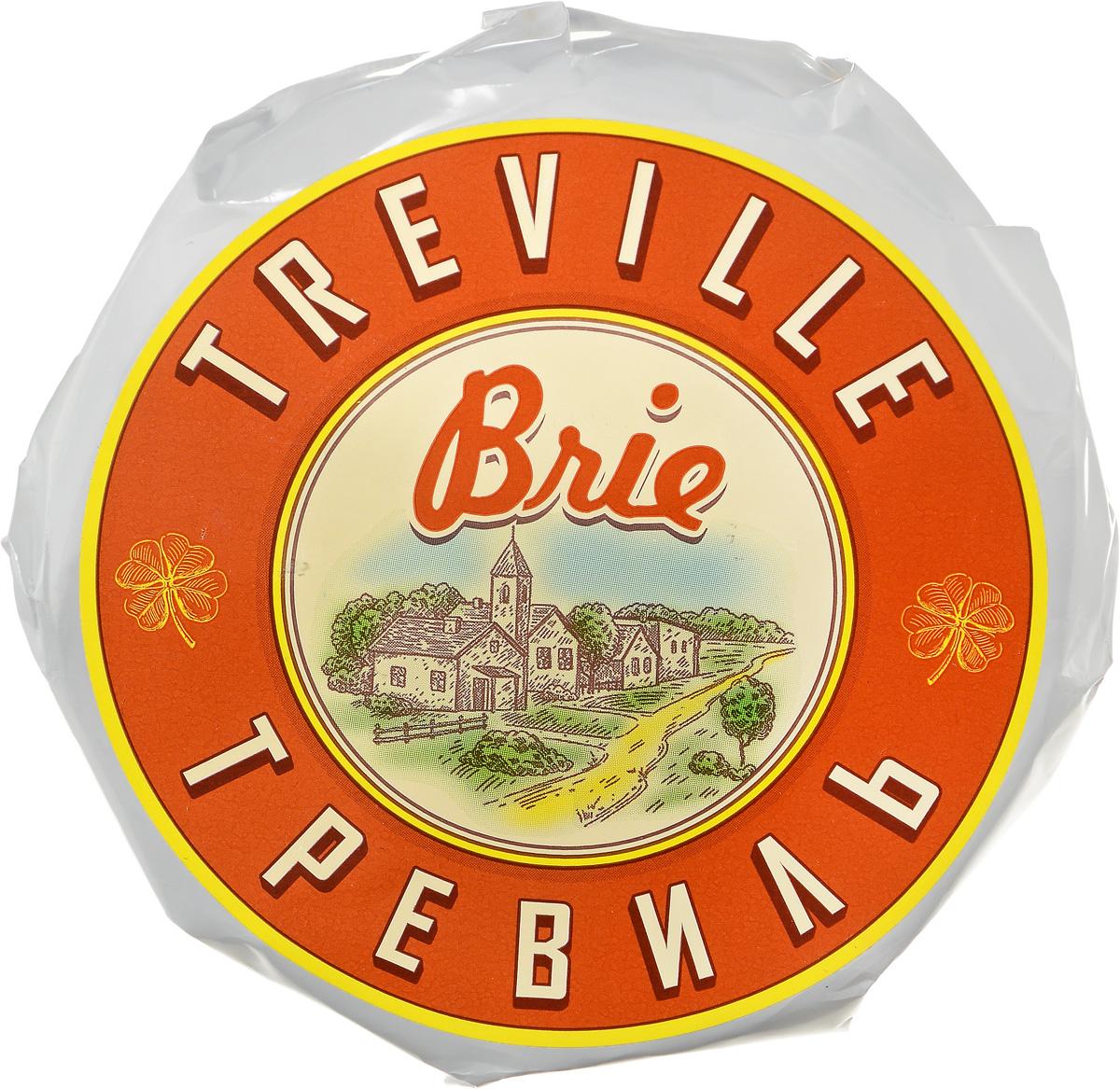 Тревиль Сыр Бри с белой плесенью, 120 г цена 2017
