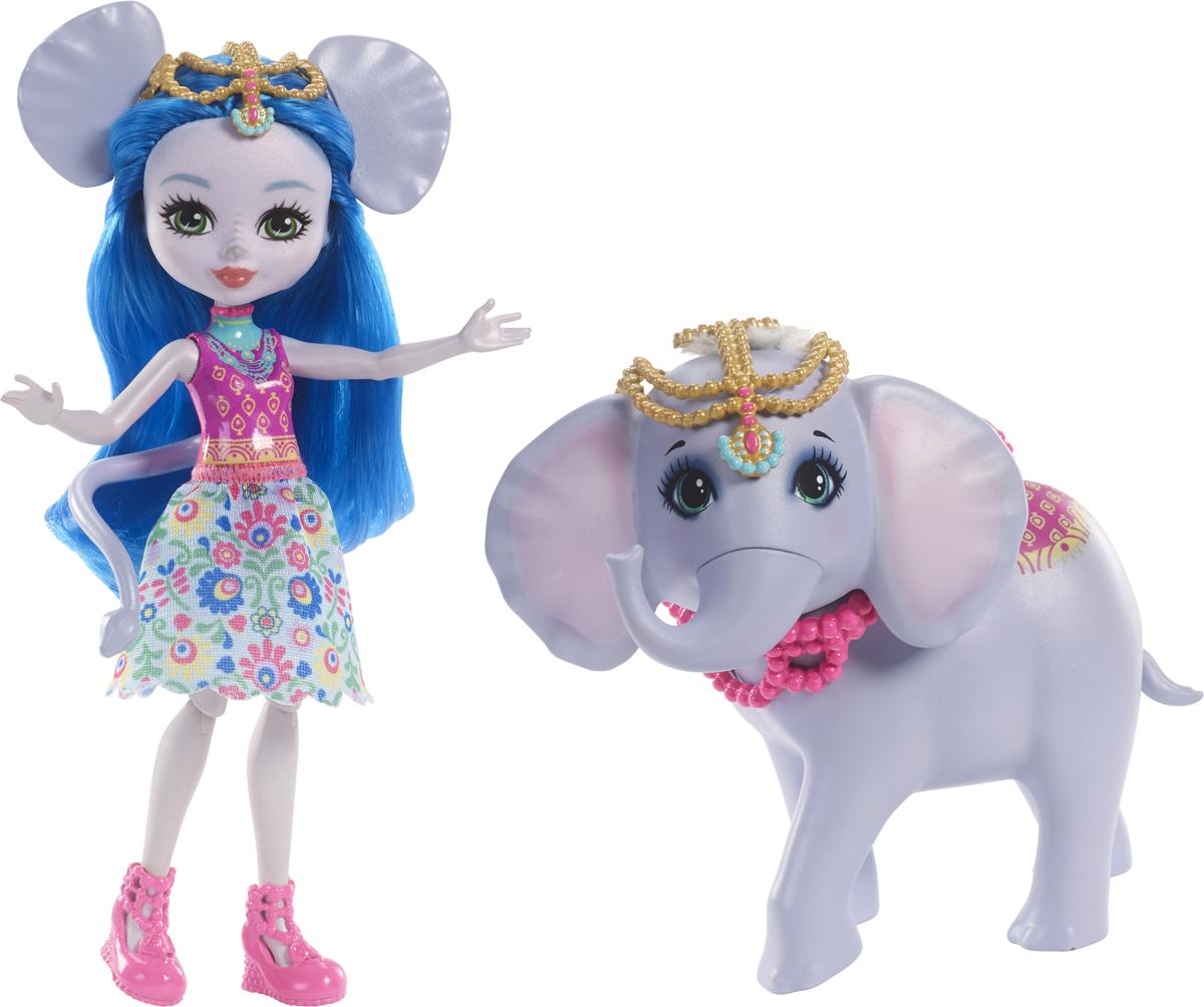 Enchantimals Игровой набор с куклой Ekaterina Elephant & Antic игровой набор с куклой findustoys infant doll fd 35 008 1 фиолетовый