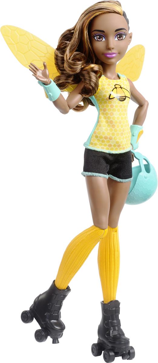 DC Super Hero Girls Кукла Bumblebee Roller Derby цена и фото