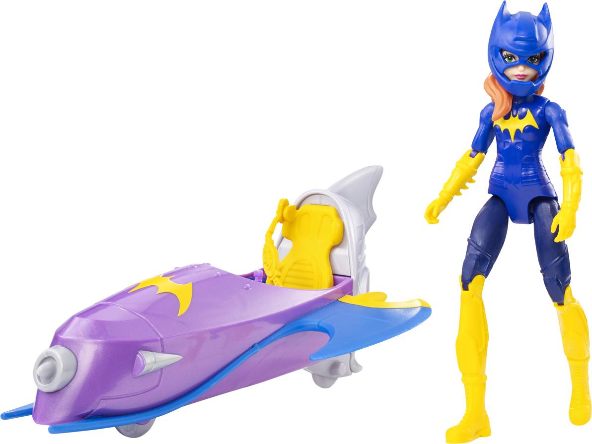 DC Super Hero Girls Фигурка Batgirl + самолет цена и фото