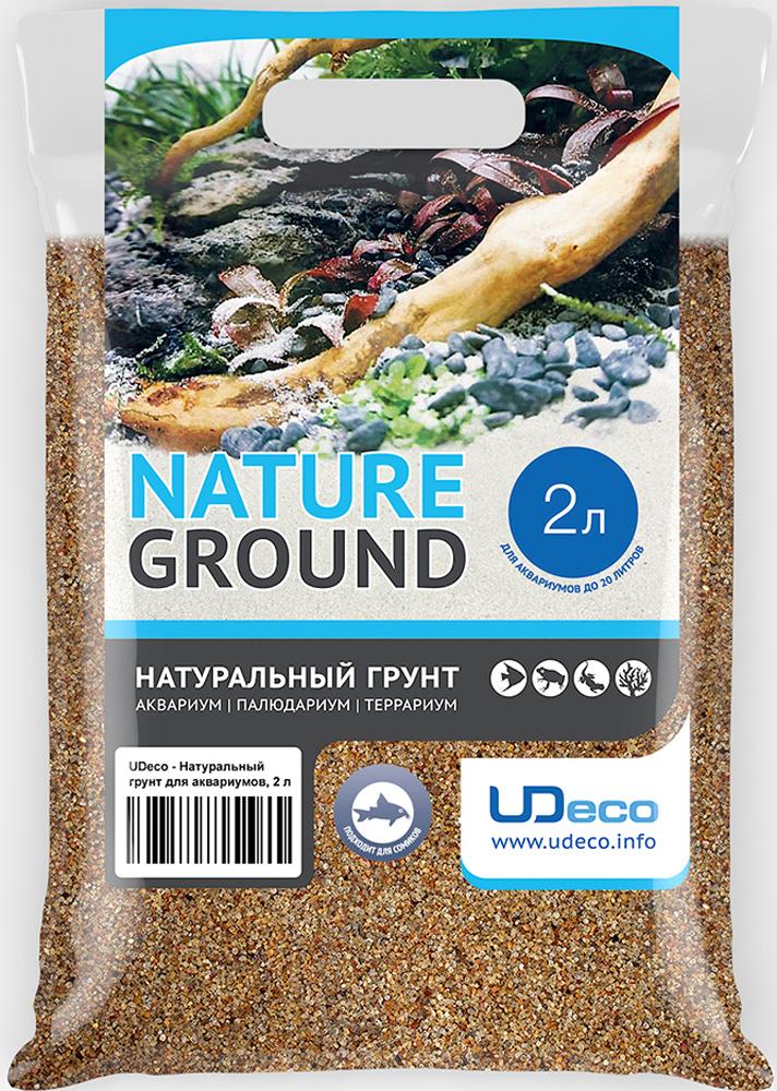 Грунт для аквариума UDeco Янтарный песок, натуральный, 0,4-0,8 мм, 2 лUDC410222Натуральный грунт UDeco Янтарный песок предназначен специально для оформления аквариумов, палюдариумов и террариумов. Грунт UDeco порадует начинающих любителей природы и самых придирчивых дизайнеров, стремящихся к созданию нового, оригинального. Такая декорация придутся по вкусу и обитателям аквариумов и террариумов, которые ещё больше приблизятся к природной среде обитания. Предназначен для аквариумов от 20 литров. Фракция: 0,4-0,8 мм. Объем: 2 л.