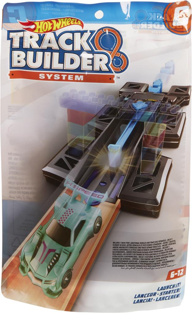 Hot Wheels Track Builder Дополнительный блок для конструктора трасс Launch It игрушка iron track it e18xb