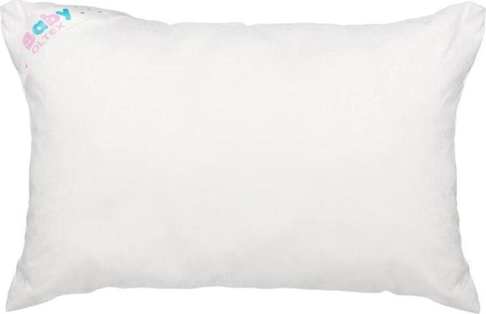 OL-Tex Подушка детская Baby цвет белый 40 х 60 см БХМ-46-1 детская подушка visco mind saponetta baby