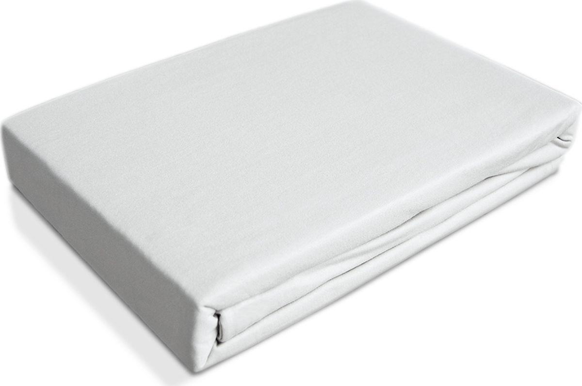 OL-Tex Простыня детская Baby на резинке цвет белый 60 х 120 см 2 шт