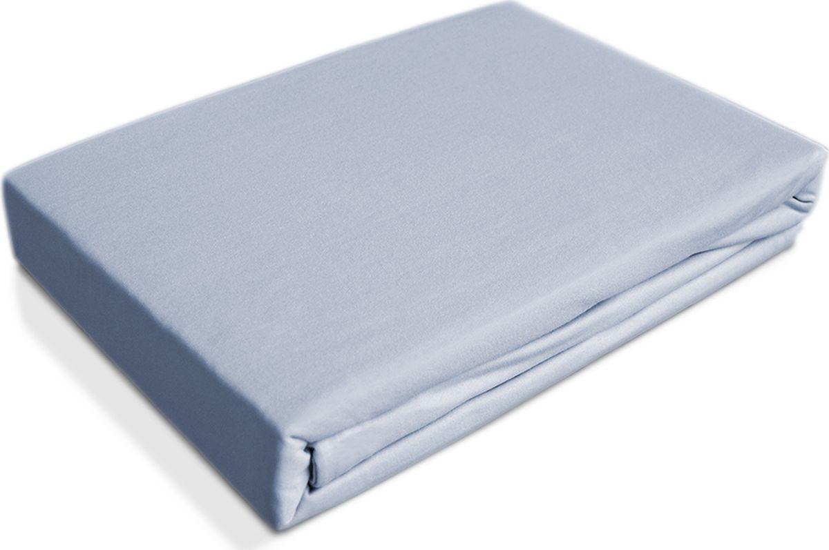 цена OL-Tex Простыня детская Baby на резинке цвет голубой 60 х 120 см 2 шт онлайн в 2017 году