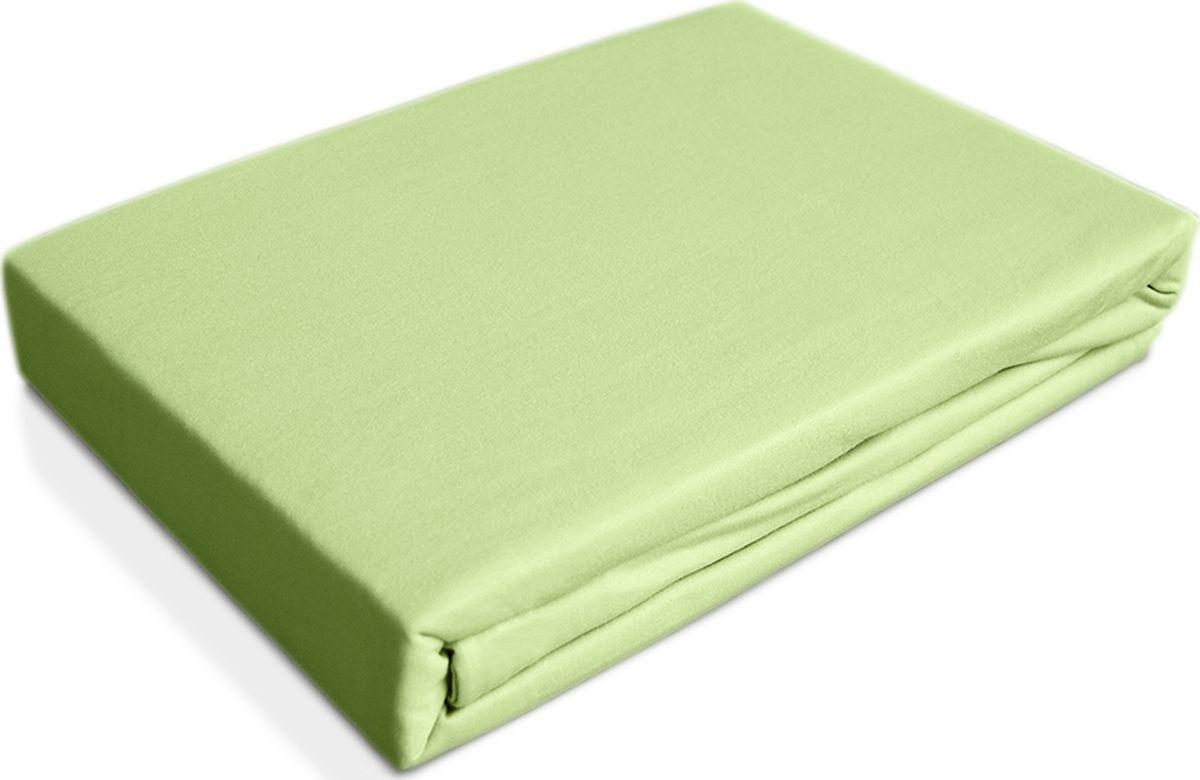 OL-Tex Простыня детская Baby на резинке цвет светло-зеленый 60 х 120 см 2 шт