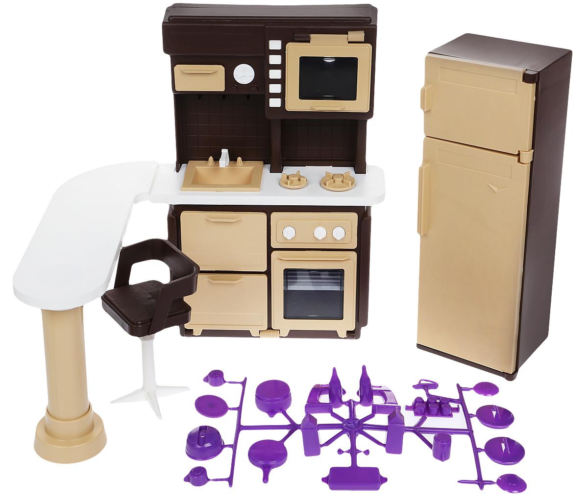 Мебель для кукол ОГОНЕК Коллекция цена 2017