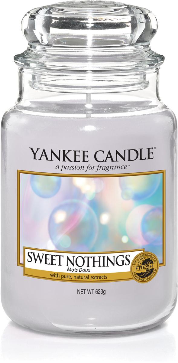 Свеча ароматизированная Yankee Candle Сладость, 623 г ароматическая свеча yankee candle summer peach jar candle объем 623 г 623 мл