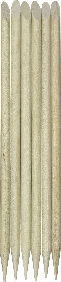 QVS Палочки для кутикулы, 6 шт. 82-10-1659 qvs палочки для кутикулы из натурального дерева 10 шт