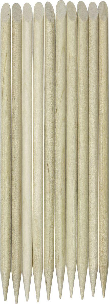 QVS Палочки для кутикулы, 10 шт. 82-10-1660 qvs палочки для кутикулы из натурального дерева 10 шт