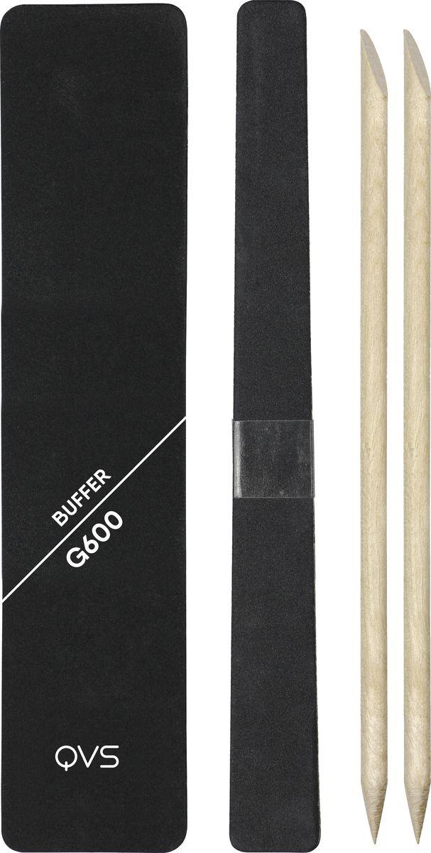 QVS Набор для ухода за ногтями. 82-10-1667 qvs палочки для кутикулы из натурального дерева 10 шт