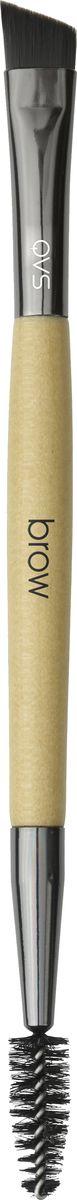 QVS Двусторонняя щетка-кисть для бровей. 82-10-1687