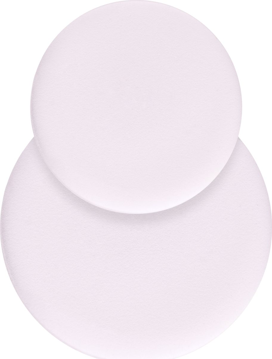 QVS Двусторонние спонжи для макияжа, 2 шт. 82-10-1712 qvs палочки для кутикулы 6 шт 82 10 1659
