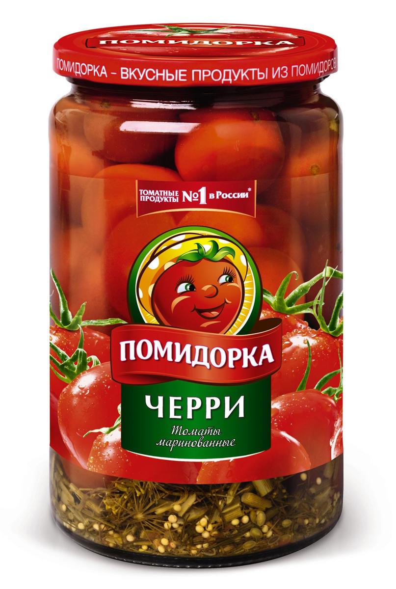Помидорка Томаты черри, 720 мл lorado томаты маринованные 720 мл