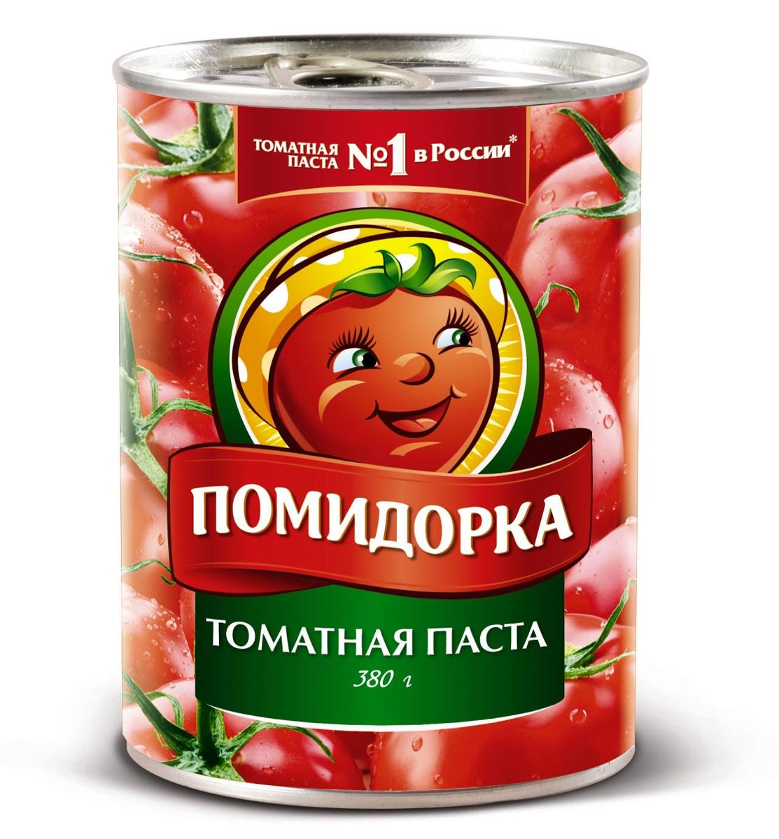 Помидорка Томатная паста, 380 г тони моли томатная