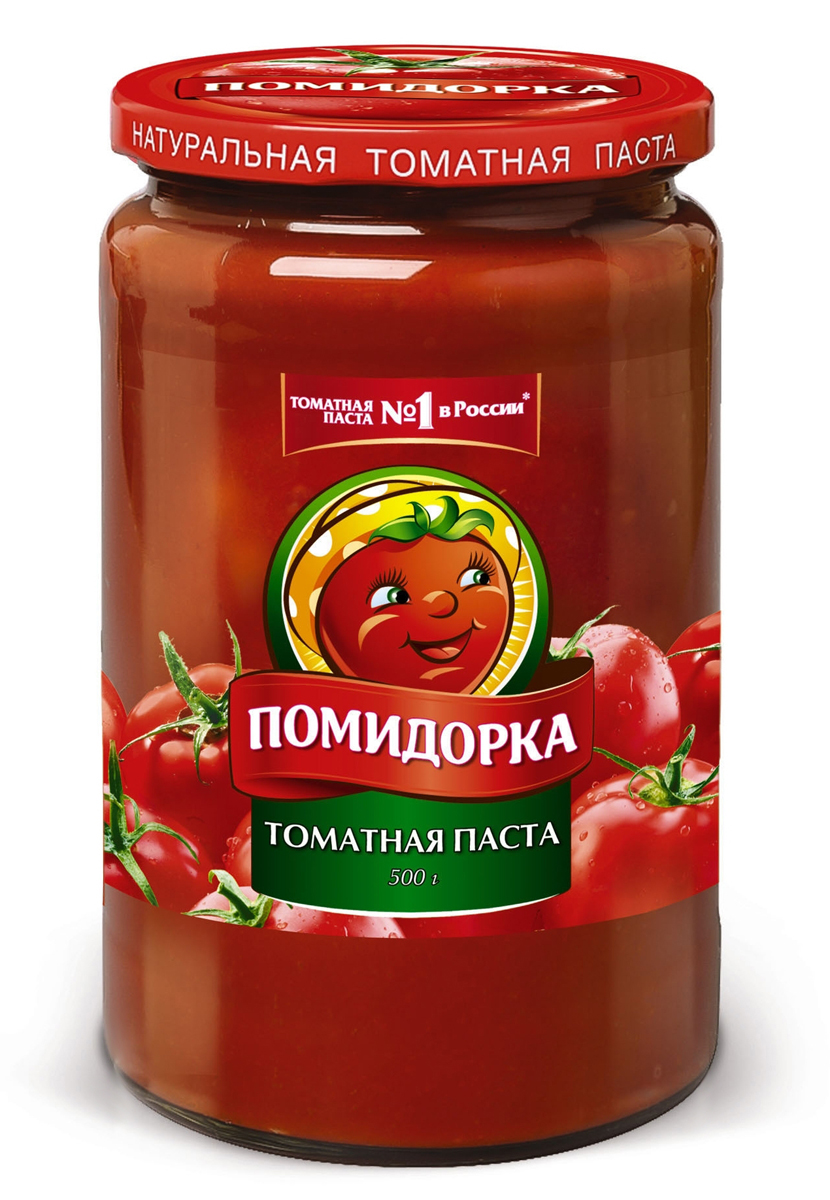 Помидорка томатная паста, 500 г тони моли томатная