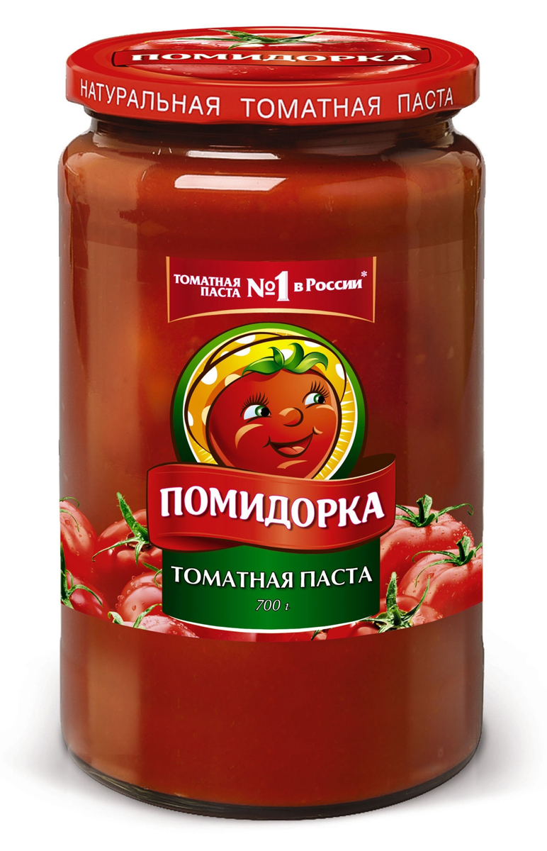 Помидорка томатная паста, 700 г тони моли томатная