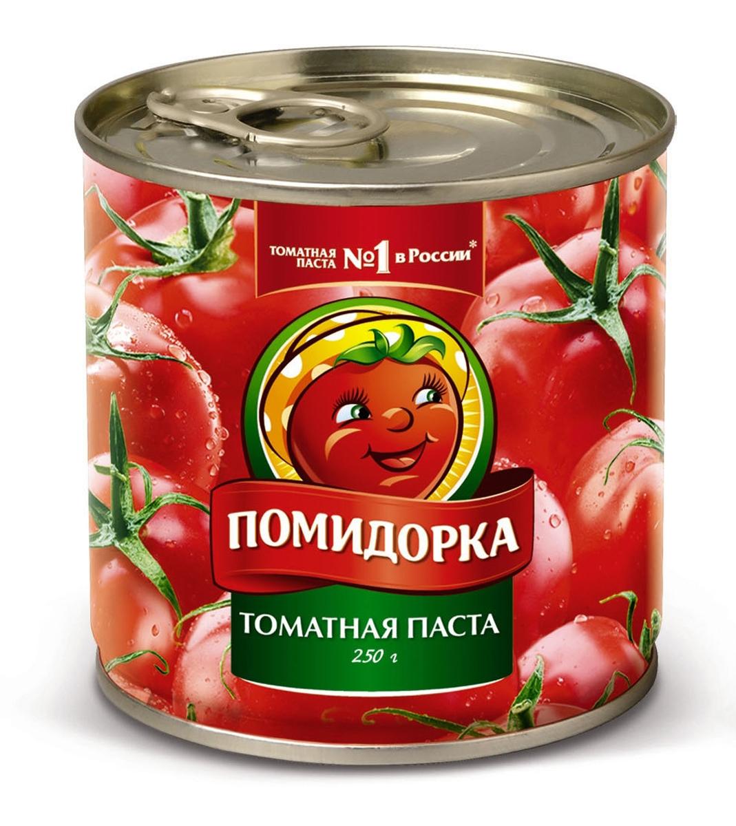 Помидорка Томатная паста, 250 г тони моли томатная
