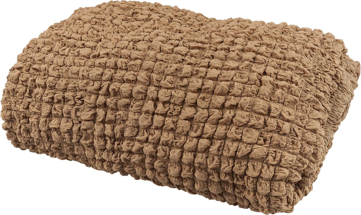 Набор чехлов МарТекс, для трехместного дивана и кресла, цвет: бежевый. 05-0744-3 набор чехлов для дивана и кресел мартекс с карманами 3 предмета 05 0751 3