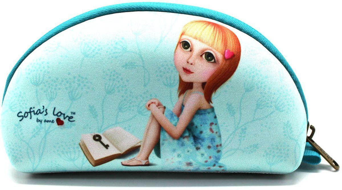 Еж-стайл Пенал-косметичка Sofia Find My Story еж стайл линейка мишка на севере 18 5 см