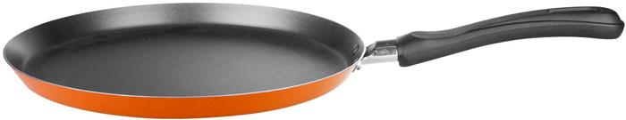 """Сковорода """"Miolla"""", цвет: оранжевый, 25 см"""