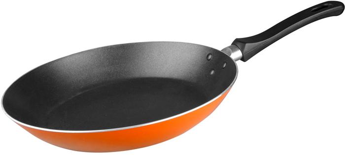 """Сковорода """"Miolla"""", цвет: оранжевый, 22 см"""