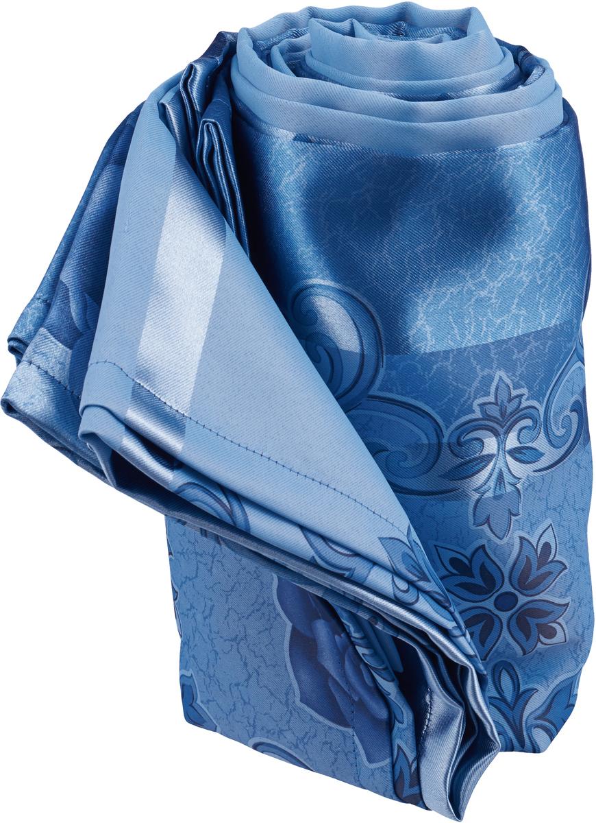 "Покрывало МарТекс ""Сале"", цвет: синий 220 х 260 см. 05-0500-3"