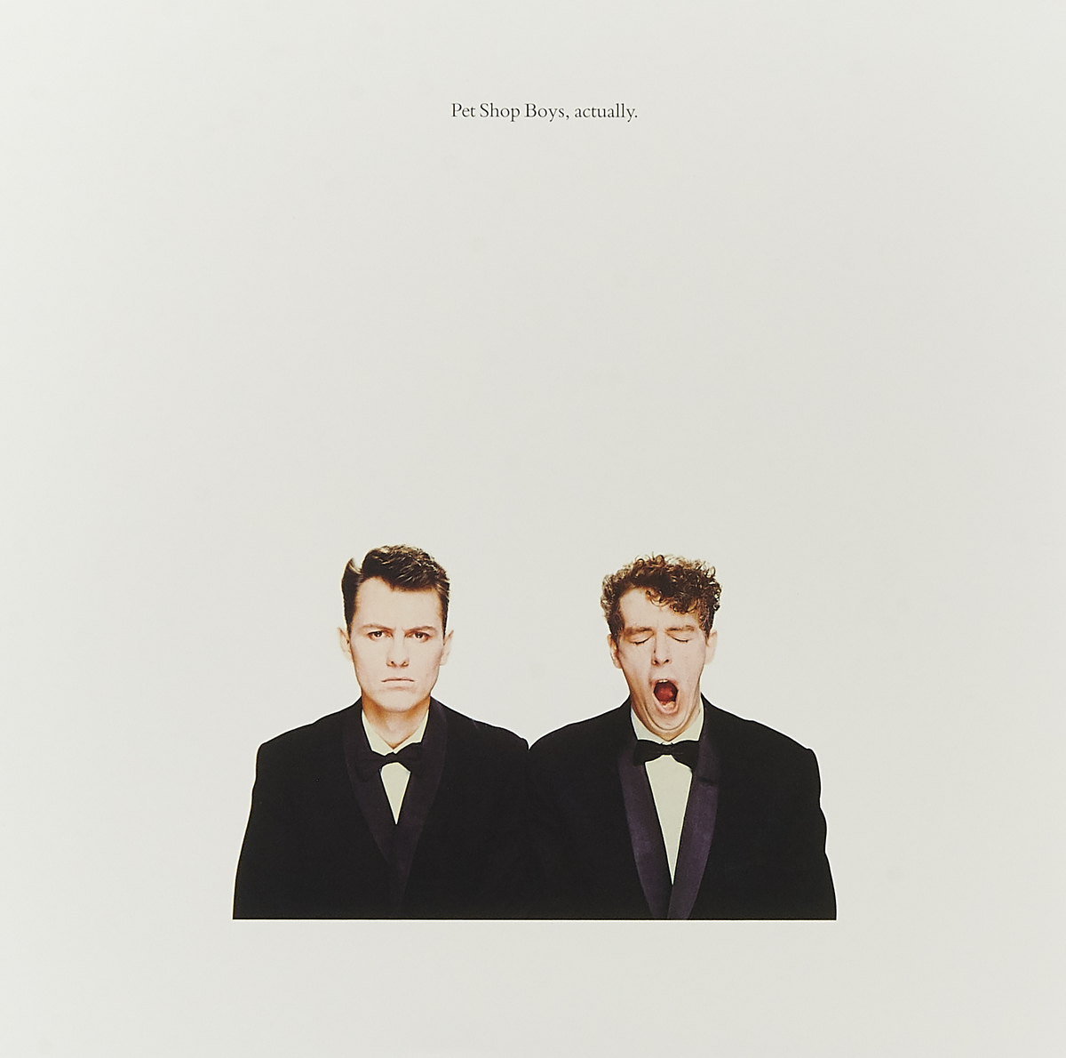 Pet Shop Boys Pet Shop Boys. Actually (LP) pet shop boys pet shop boys bilingual
