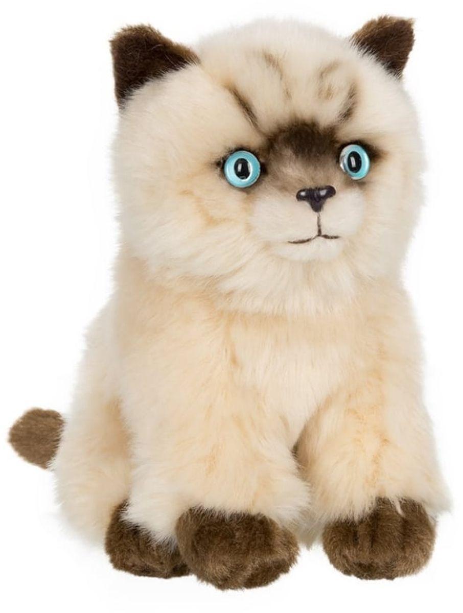 Anna Club Plush Сиамский котёнок, сидит 15 см anna club plush мягкая игрушка кот сибирский серый 25 см