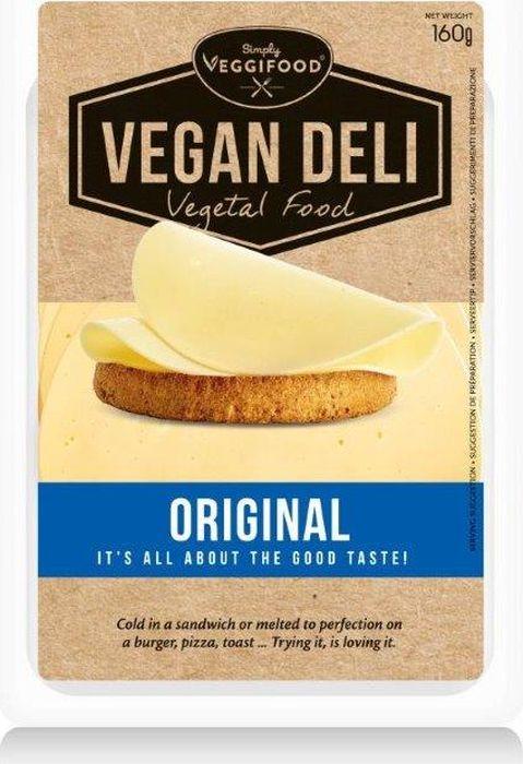 FitFood Vegan Deli Нарезка веганская Original со вкусом сыра, 160 г