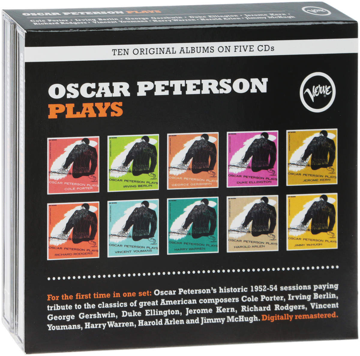 The Oscar Peterson Trio Oscar Peterson Trio. Oscar Peterson Plays (5 CD) oscar peterson oscar peterson