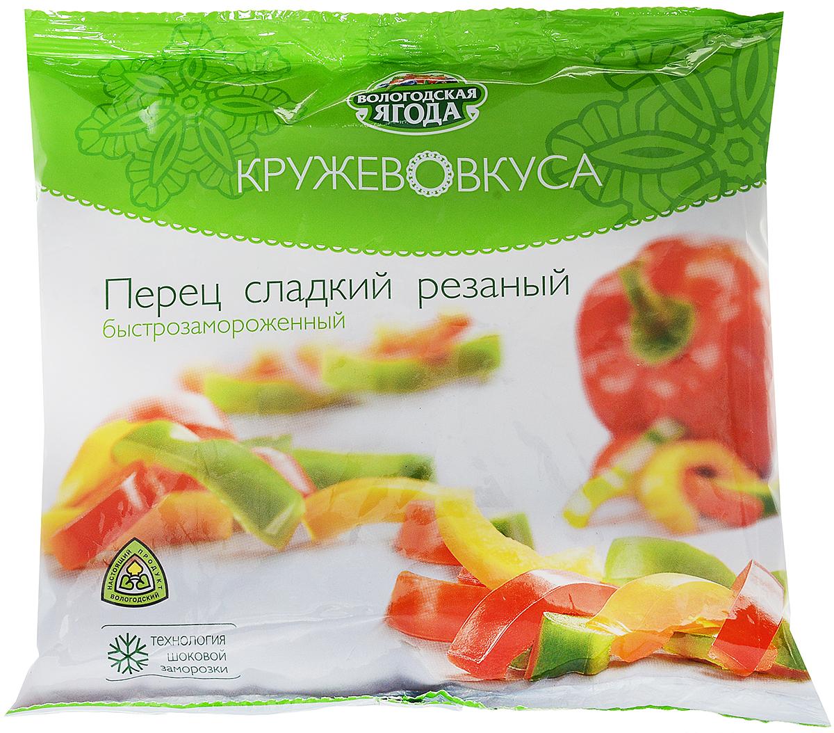 Перец Кружево Вкуса замороженный, 400 г цена