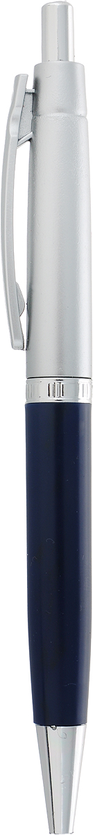 Фото - Calligrata Ручка шариковая Лого Прано цвет корпуса темно-синий синяя fellowes ручка шариковая на подставке синяя цвет корпуса черный