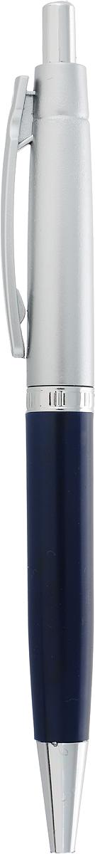 Calligrata Ручка шариковая Лого Прано цвет корпуса темно-синий синяя на авто цвет темно синий перламутр