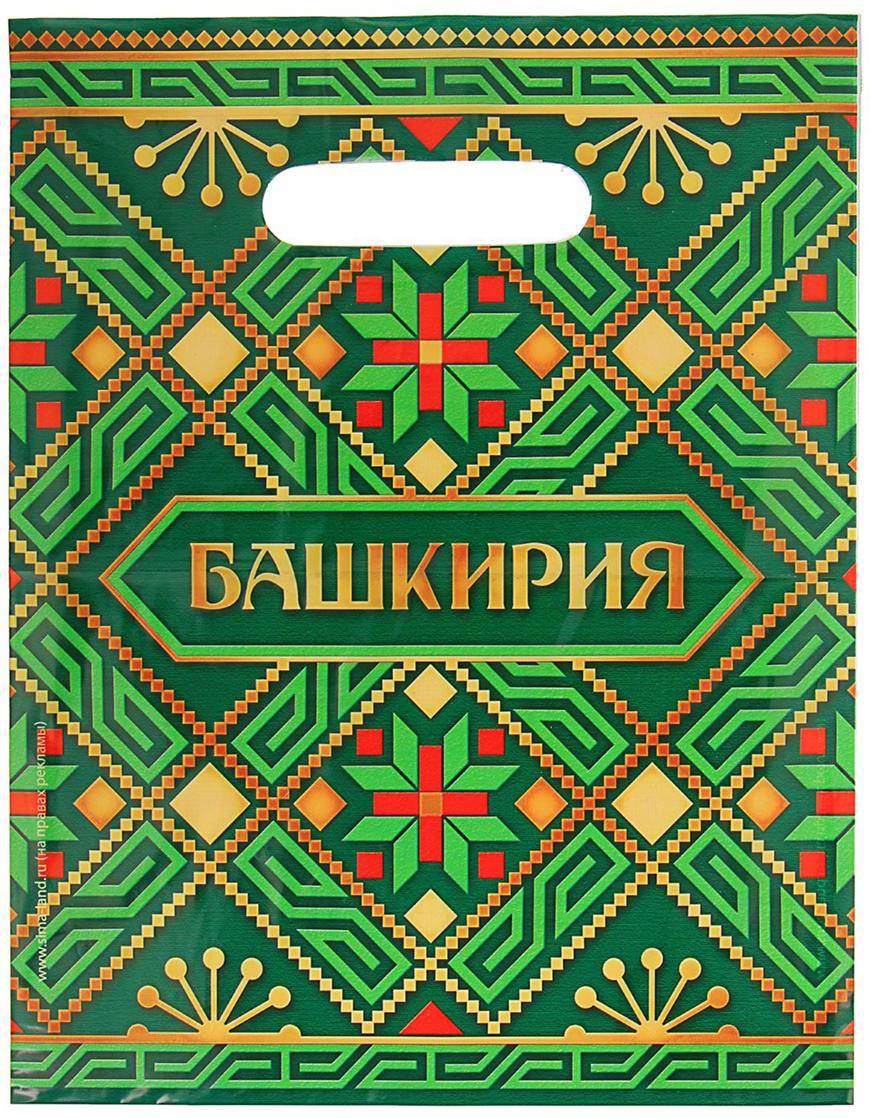 """Пакет подарочный """"Башкирия"""", 23 х 29,5 см. 1700609"""