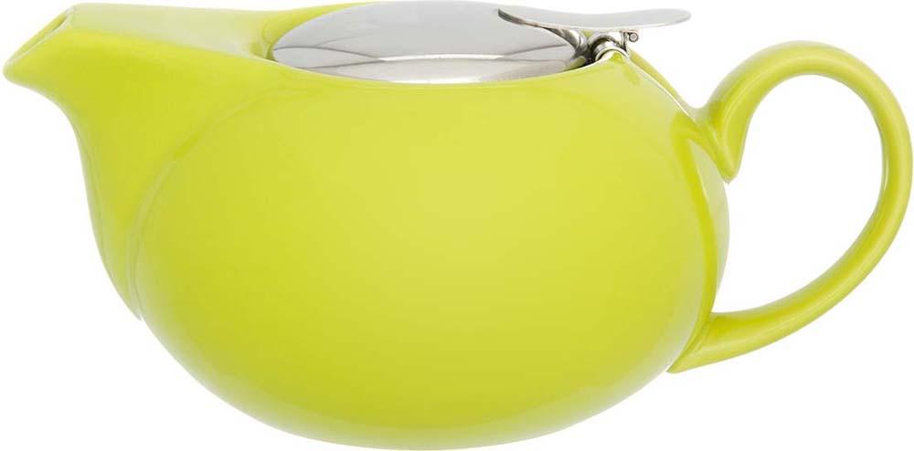 Чайник заварочный Elan Gallery, с крышкой и ситом, цвет: лаймовый, 550 мл цена