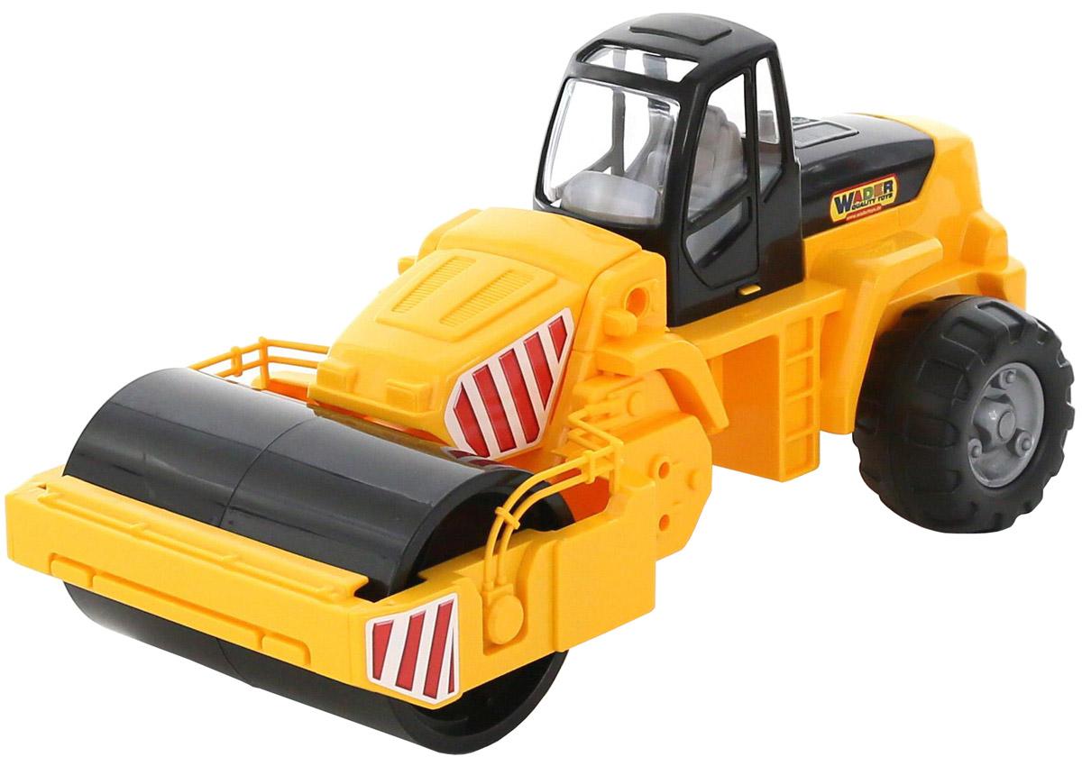 Полесье Каток дорожный цвет в ассортименте машина игрушечная с аксессуарами полесье volvo дорожный каток