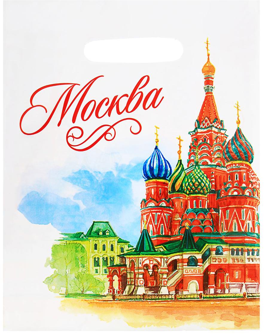 """Пакет подарочный """"Москва"""", 23 х 29,5 см. 1700611"""